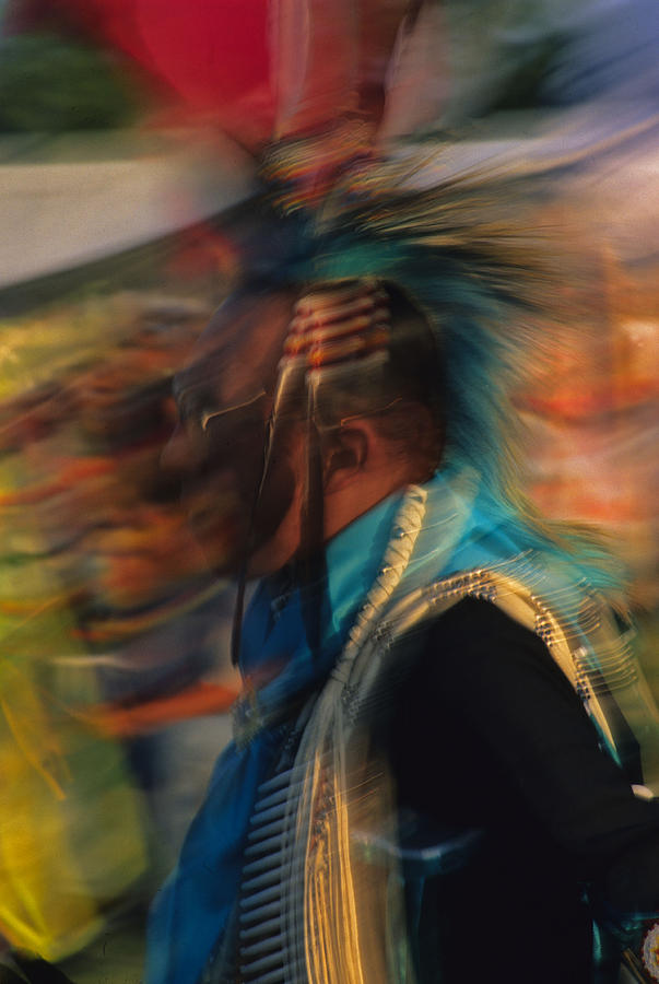 Native American Photograph - Wind Dancer by Stan Williams