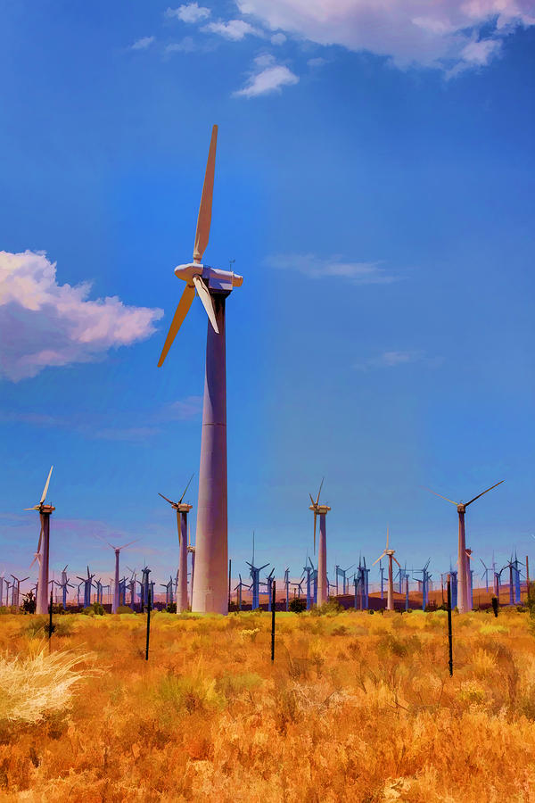 Wind Power Photograph  - Wind Power Fine Art Print