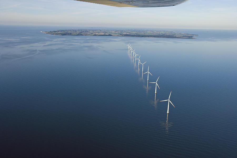 Wind Turbines Provide Energy Photograph