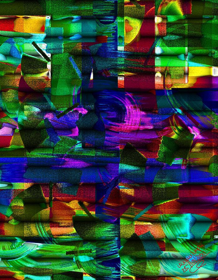 Windblown Digital Art