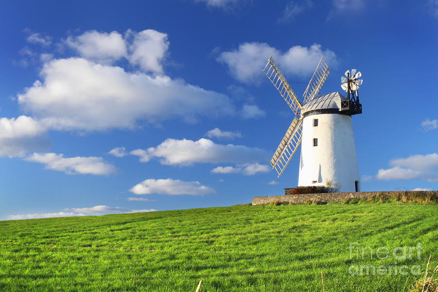 Windmill Photograph  - Windmill Fine Art Print