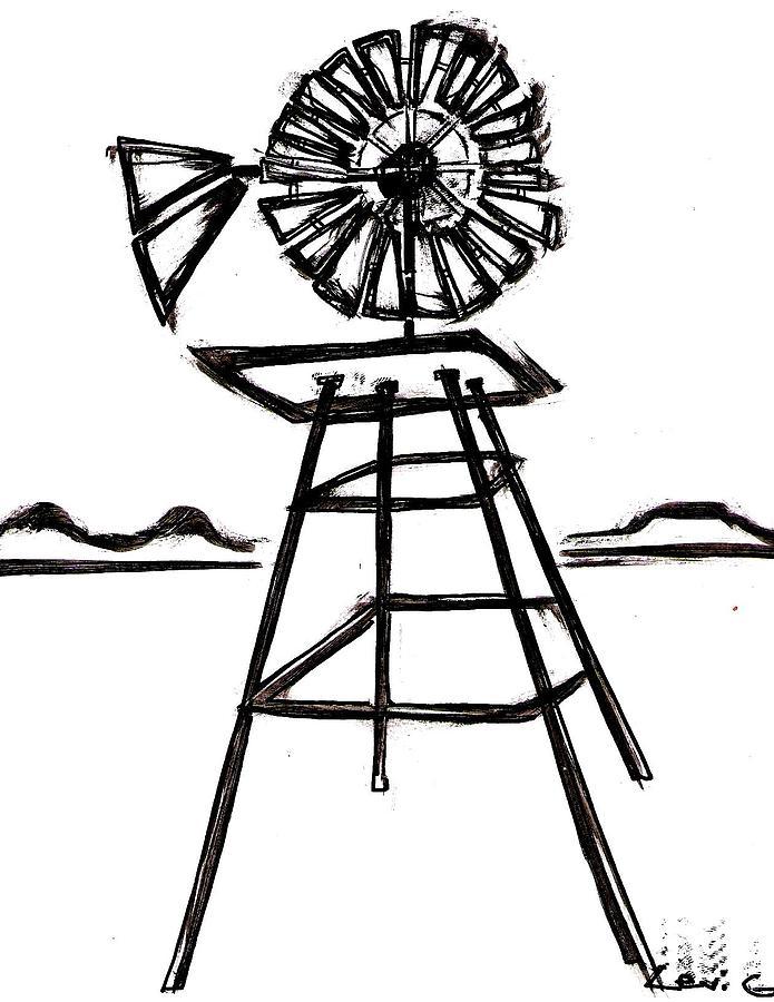 Windmill By Levi Glassrock