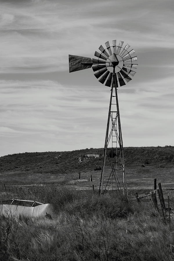 Windmill On The Plains Photograph  - Windmill On The Plains Fine Art Print
