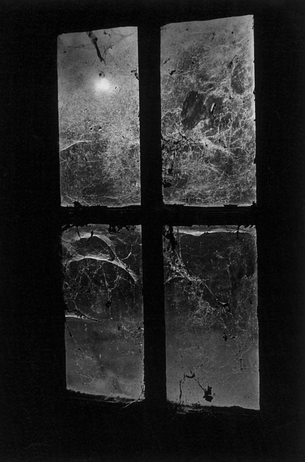 Window At Castle Frankenstein Photograph