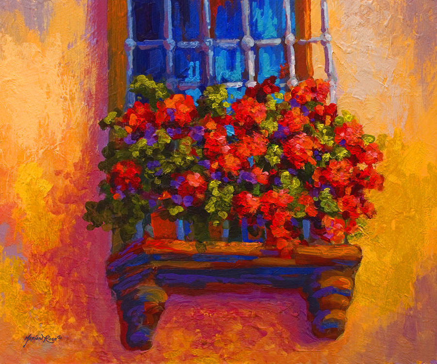 Window Box  Painting