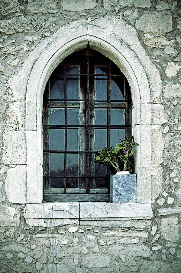 Window Of A Chapel Photograph  - Window Of A Chapel Fine Art Print