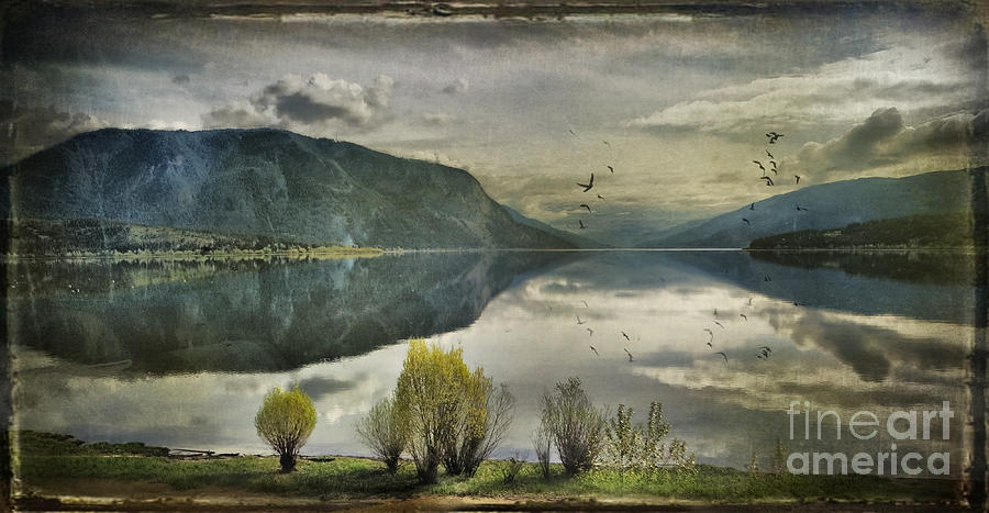 Mountains Photograph - Window View by Kym Clarke