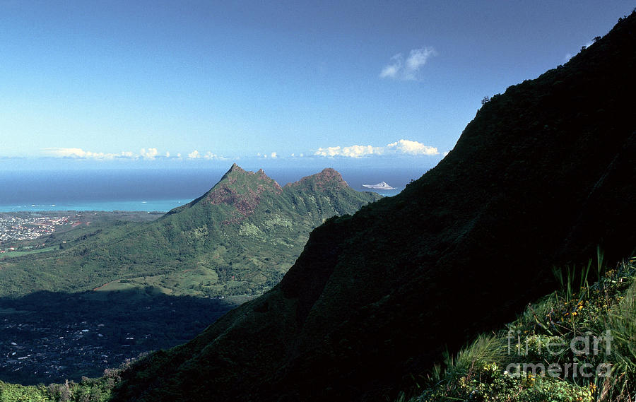 Windward Oahu From The Koolau Mountains Photograph