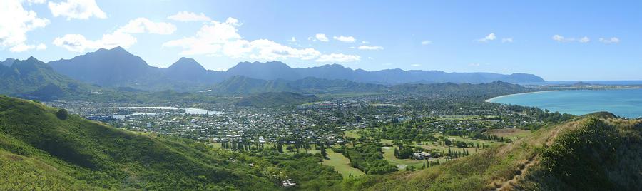 Windward Oahu Panorama I Photograph