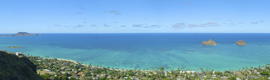 Windward Oahu Panorama II Photograph