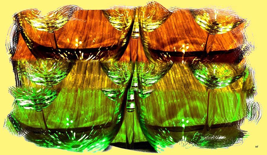 Wine And Dine 2 Digital Art