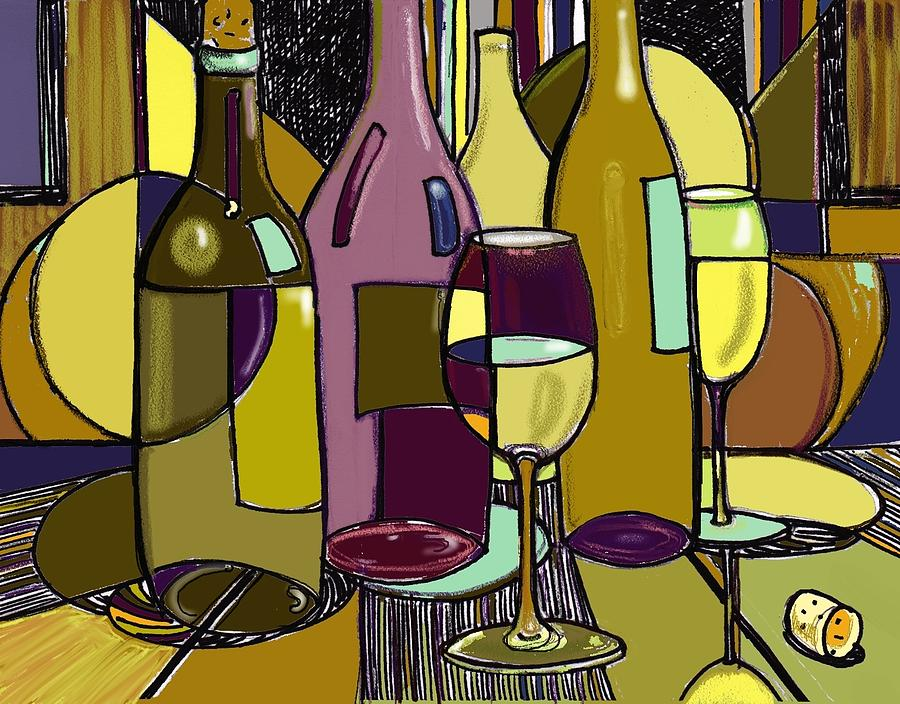 1000 images about wine decorations on pinterest wine for Wine bottle artwork