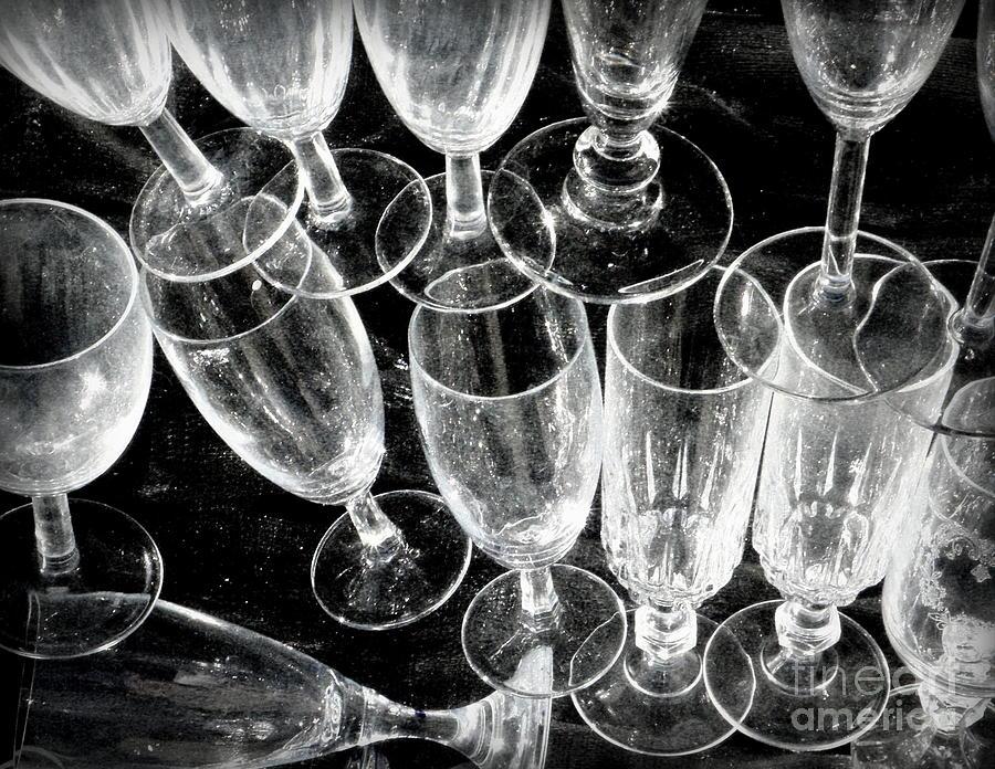 Wine Glasses Photograph