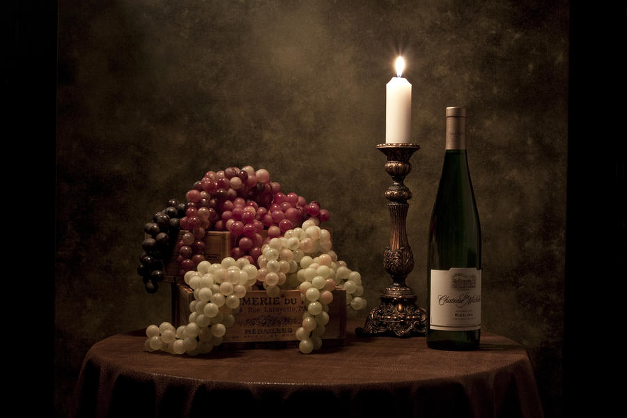 Wine Harvest Still Life Photograph
