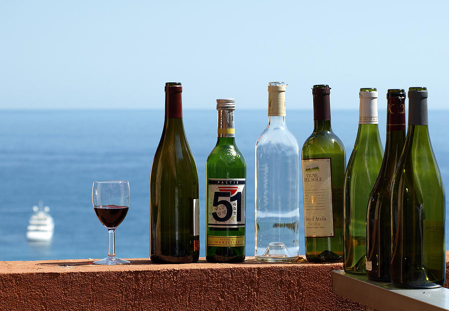 Wine In Mandatory In France Photograph