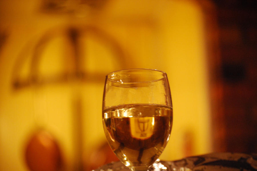 Wine In The Kitchen Photograph