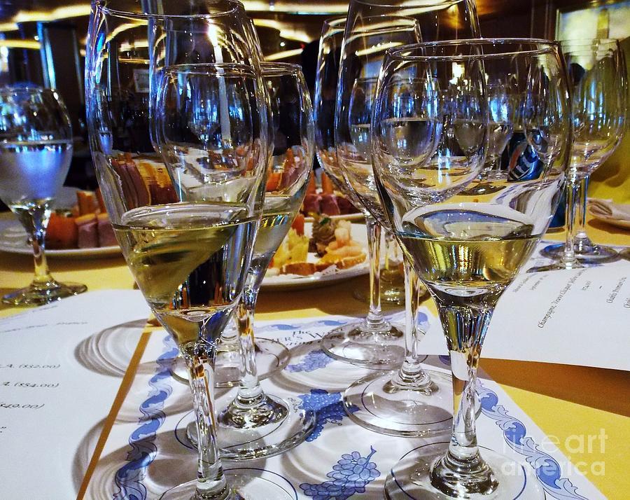 Wine Tasting Photograph