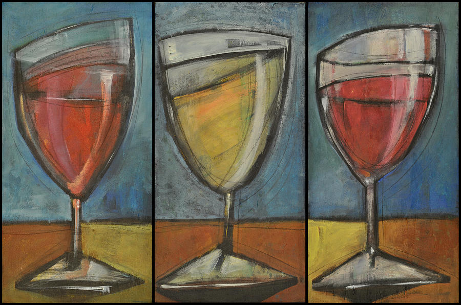 Wine Trio - Option One Painting