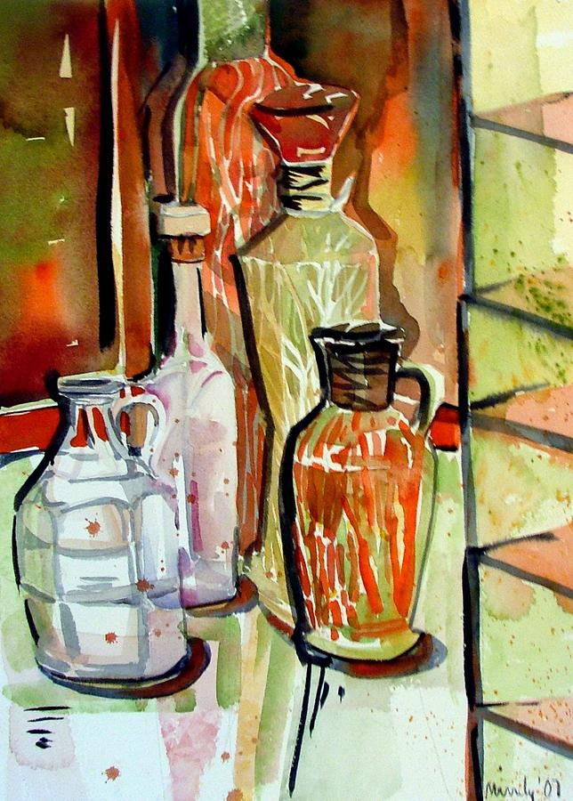 Wine Vinegar Painting