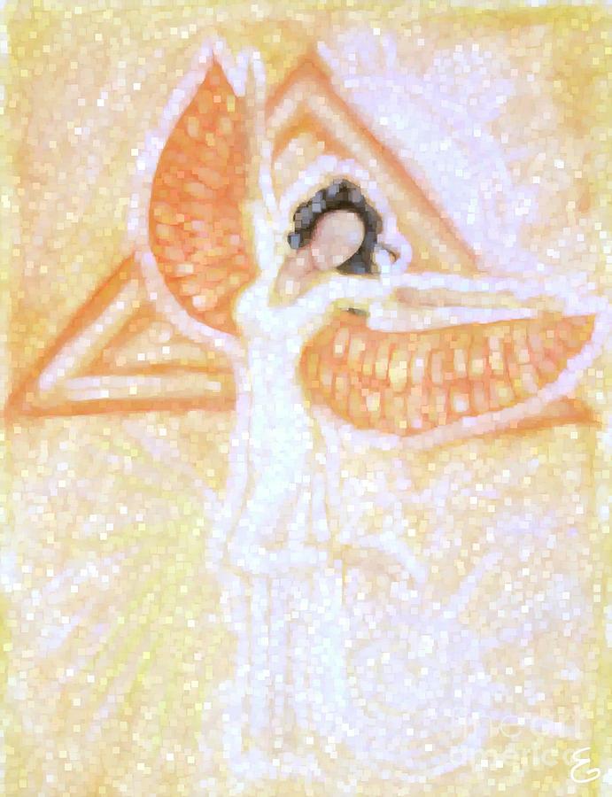 Winged Goddess Digital Art