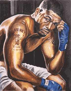 Winky Wright Painting