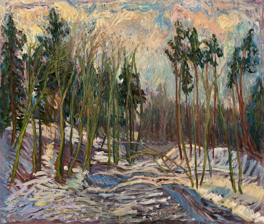 Winter A Painting
