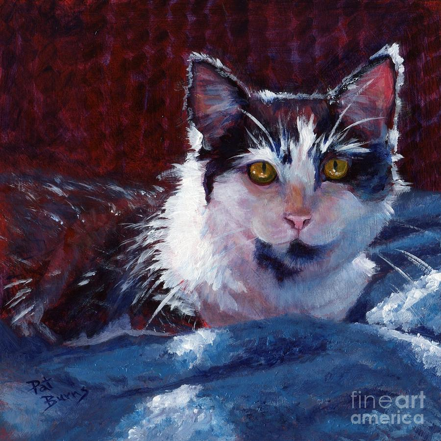 Winter Comfort Painting  - Winter Comfort Fine Art Print