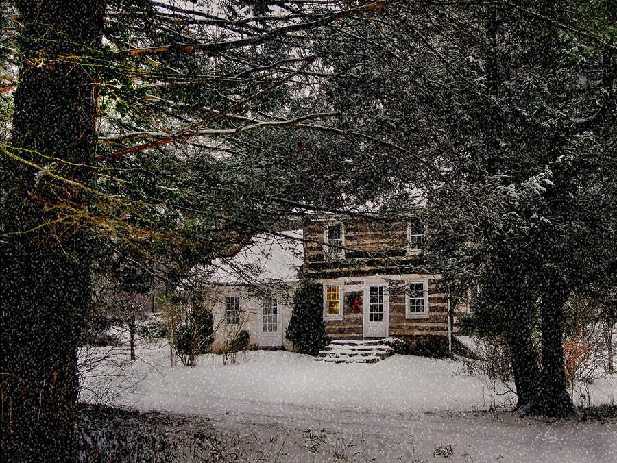 Winter Cottage Photograph  - Winter Cottage Fine Art Print