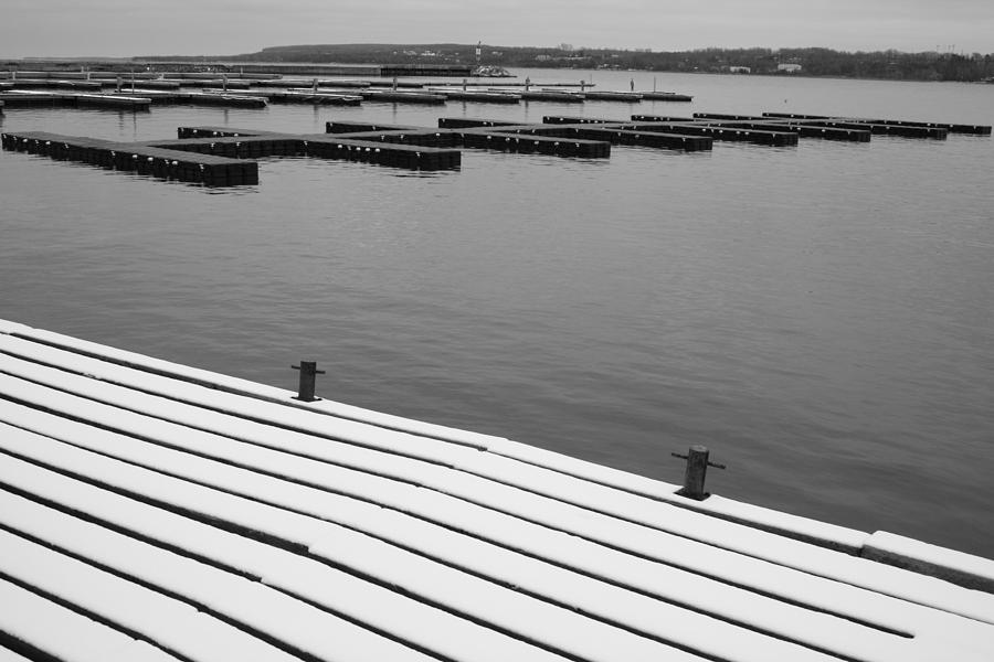 Winter Dock Photograph  - Winter Dock Fine Art Print