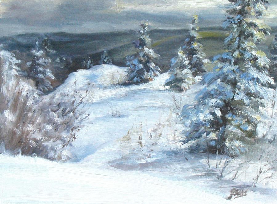 Winter Escape Painting
