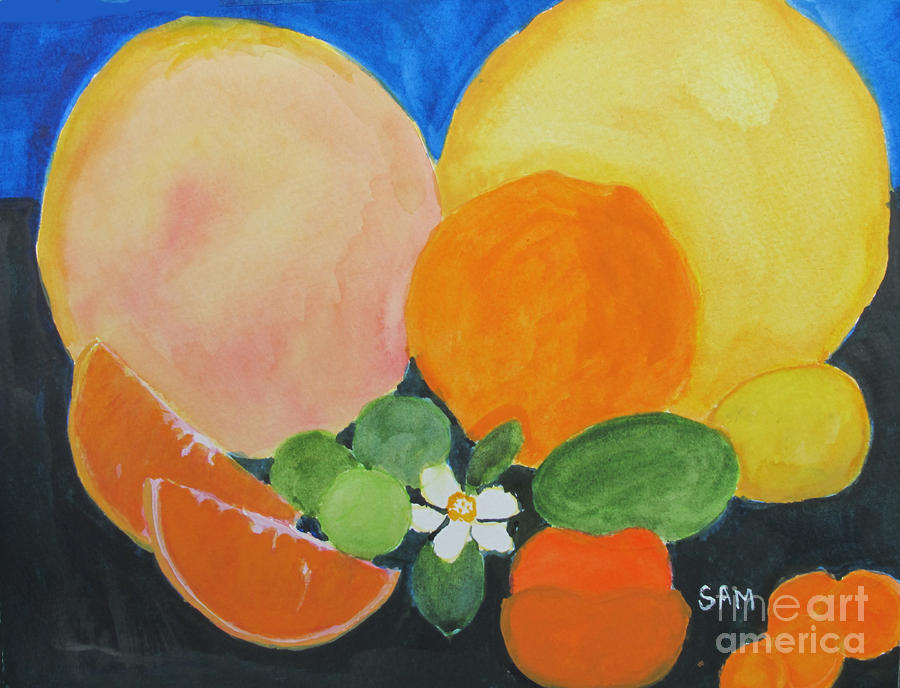 Winter Fruit Painting  - Winter Fruit Fine Art Print