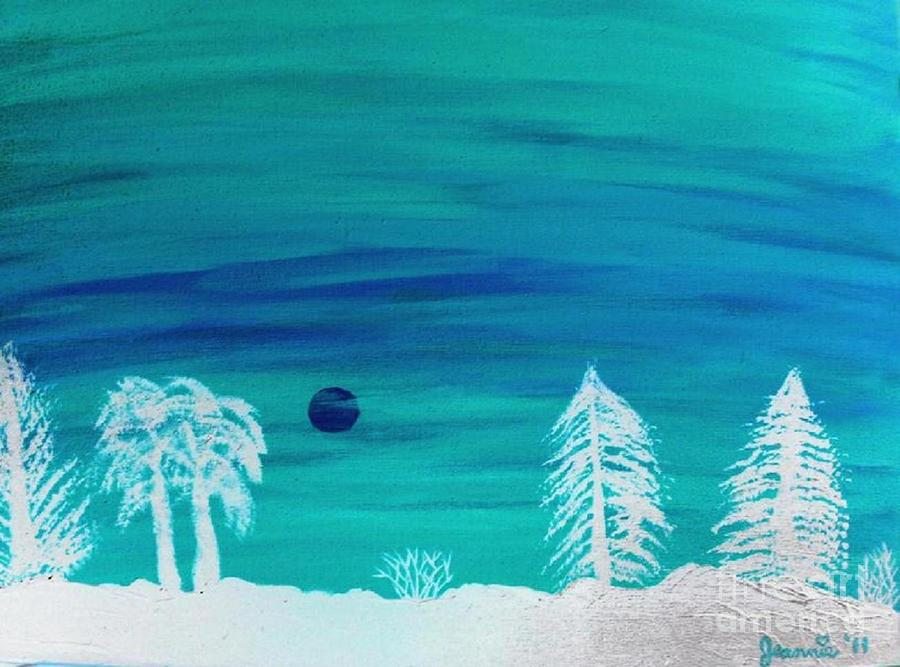 Winter Glow Painting