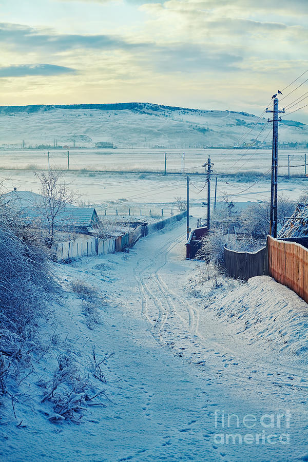 Winter In Romanian Countryside Photograph  - Winter In Romanian Countryside Fine Art Print