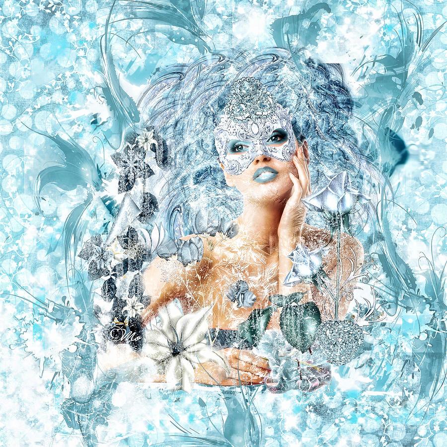 Winter Digital Art - Winter by Mo T