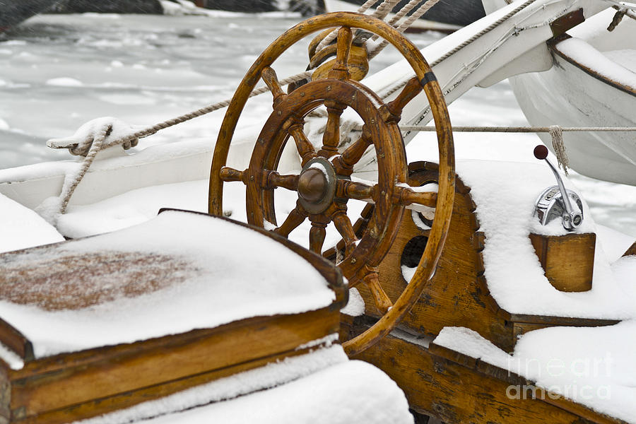 Winter On Board Photograph  - Winter On Board Fine Art Print