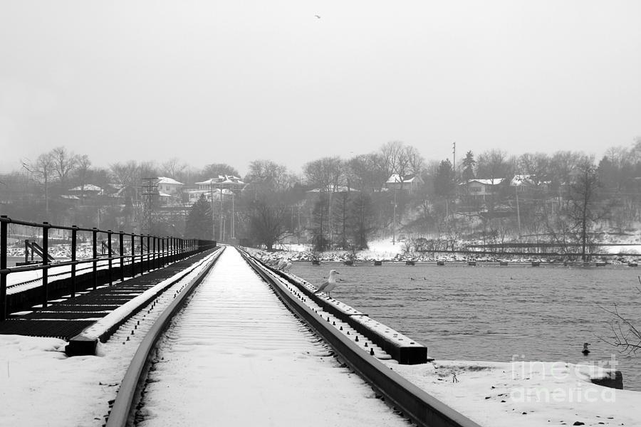 Winter Rails Photograph