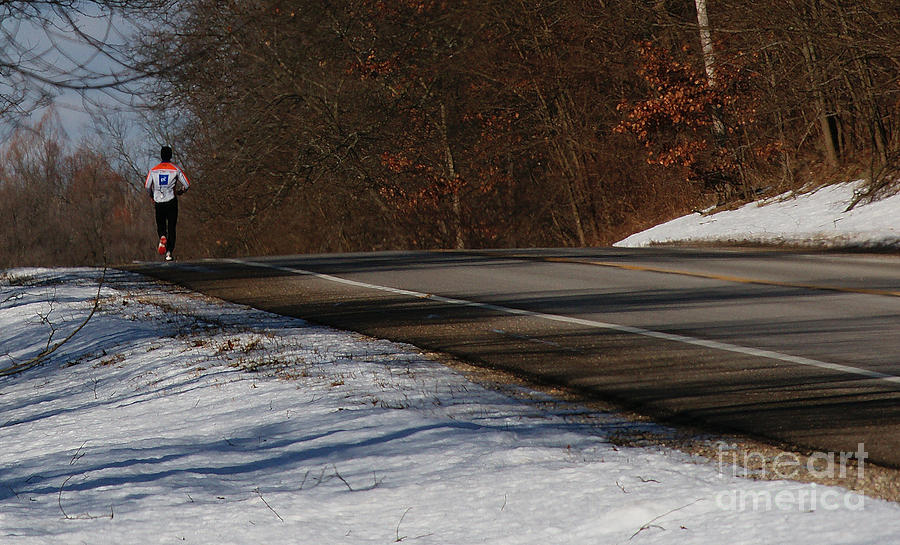 Winter Run Photograph