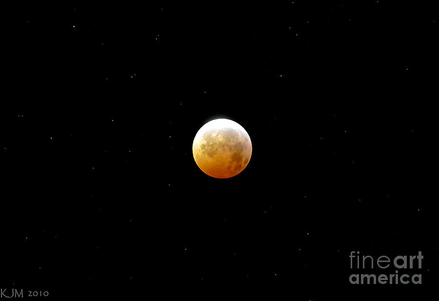 Winter Solstice Lunar Eclipse 2010 Photograph