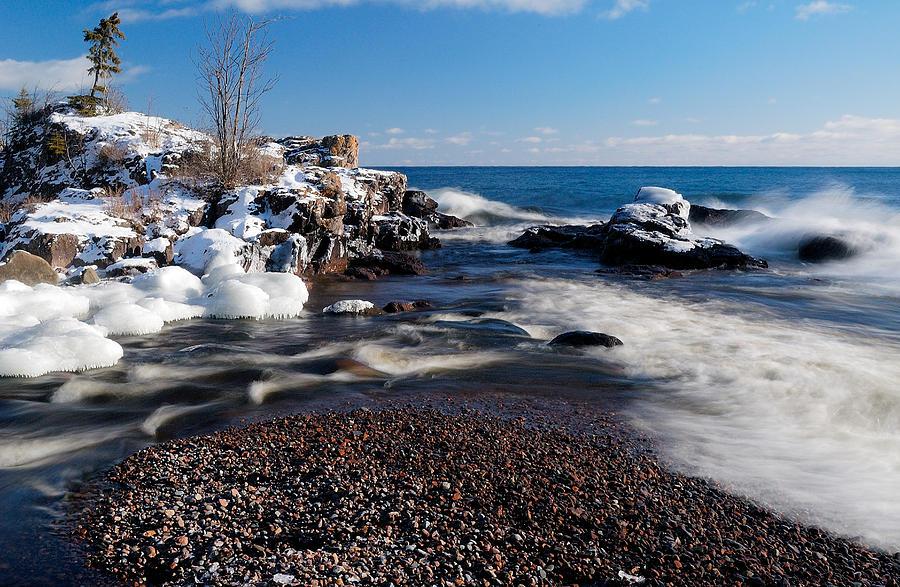 Winter Splash Photograph