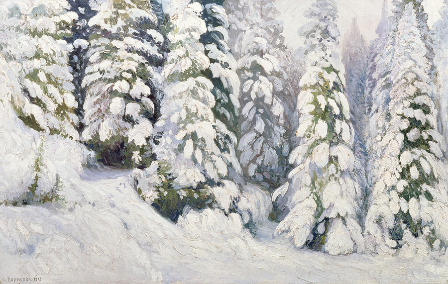 Winter Tale Painting
