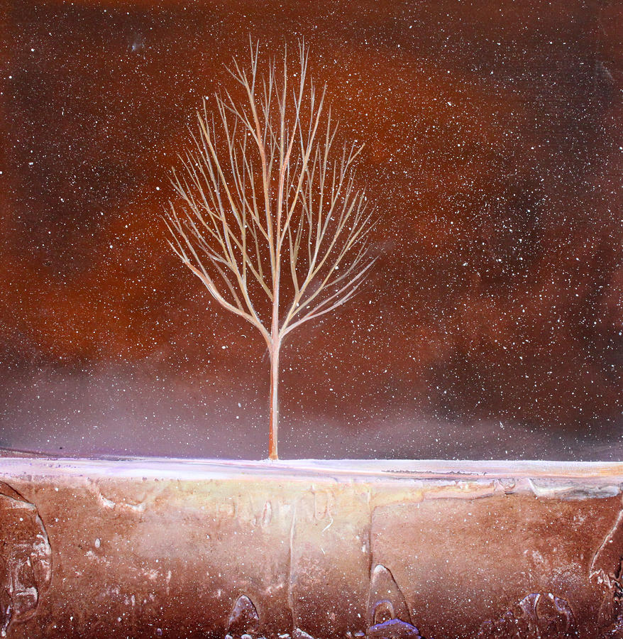 Winter Tree Painting