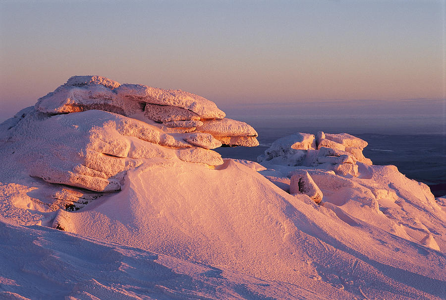 Europe Photograph - Winter View Of The Top Of Brocken by Norbert Rosing