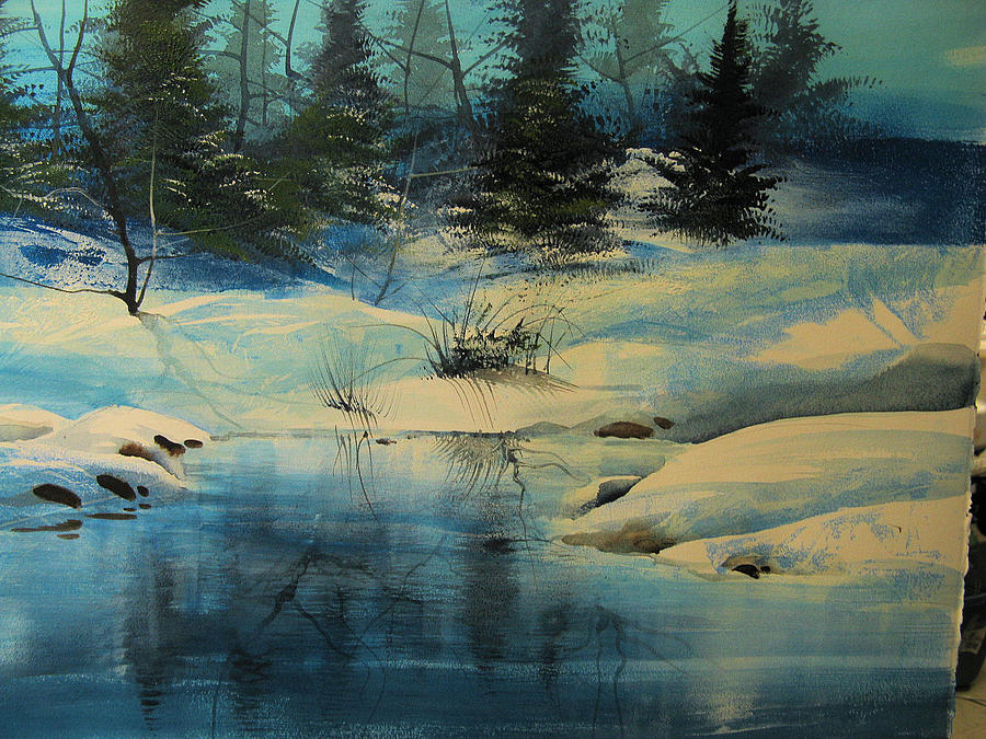 Winterscape Painting
