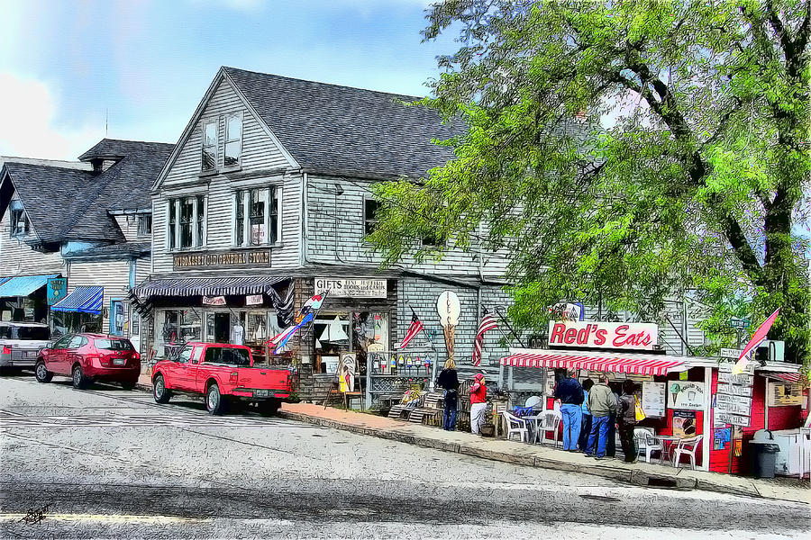 Wiscasset Old General Store is a painting by Tom Schmidt which was ...