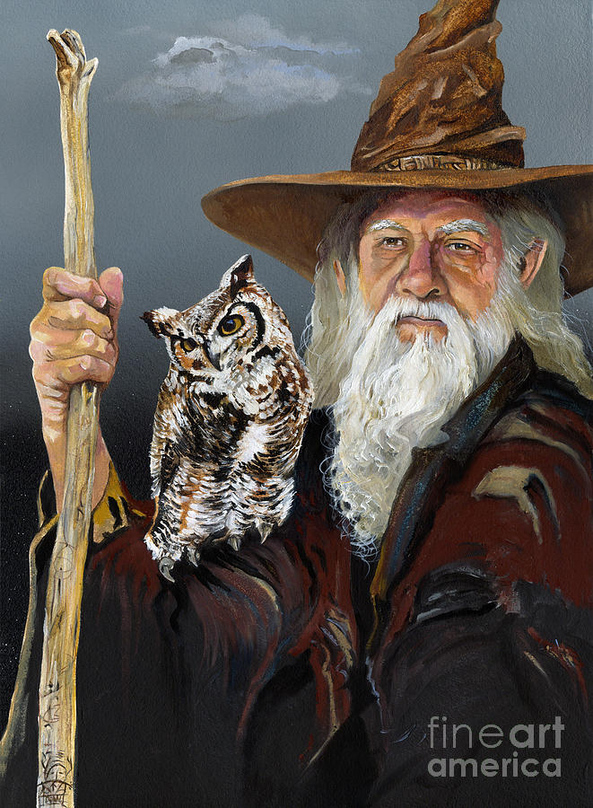 Wise Counsel Painting  - Wise Counsel Fine Art Print