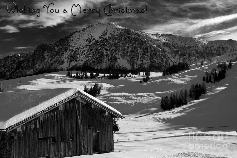 Wishing You A Merry Christmas Austria Europe Photograph