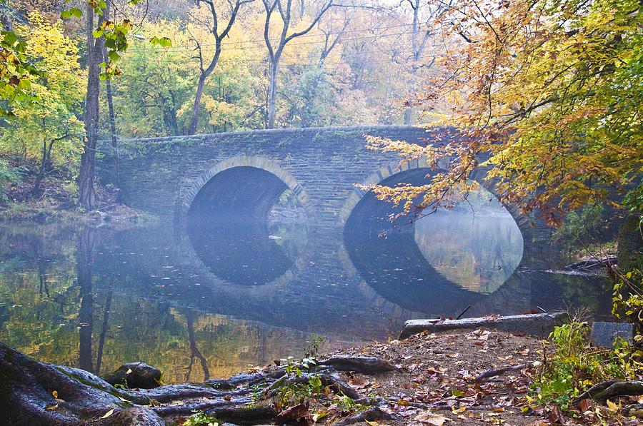 Wissahickon Creek At Bells Mill Rd. Photograph