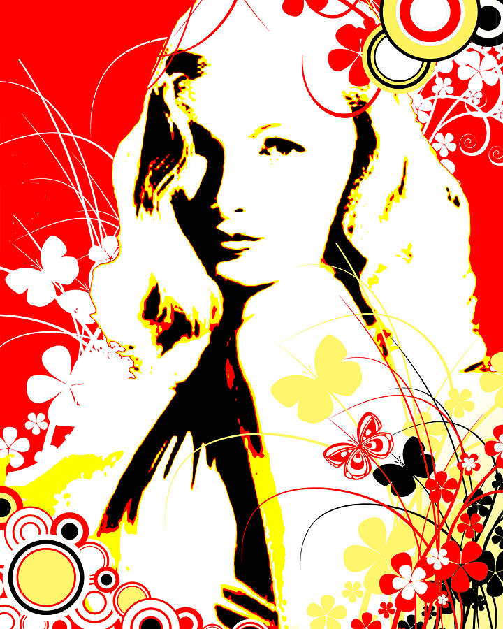 Wistful Flutter Digital Art
