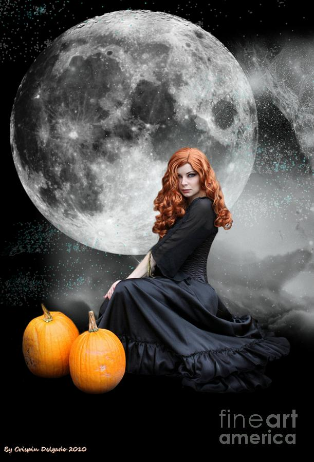 Witching Hour  Digital Art  - Witching Hour  Fine Art Print