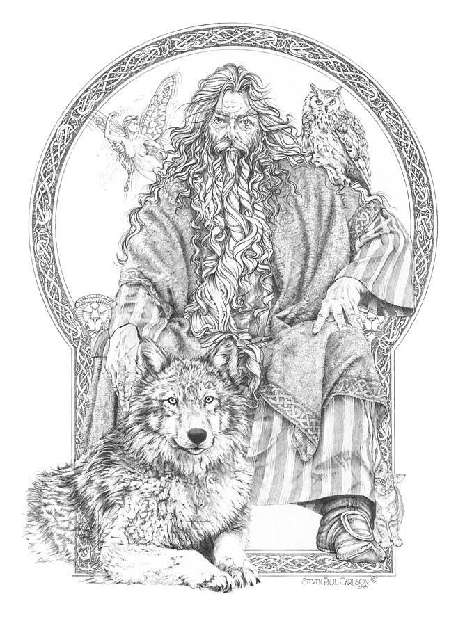 Wizard IIi - The Family Portrait Drawing